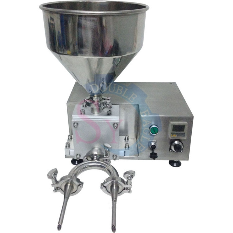 Different Heads Jam Cream Butter Core Inject Bread Filling Machine/electric Puffs Filler Injection Machine