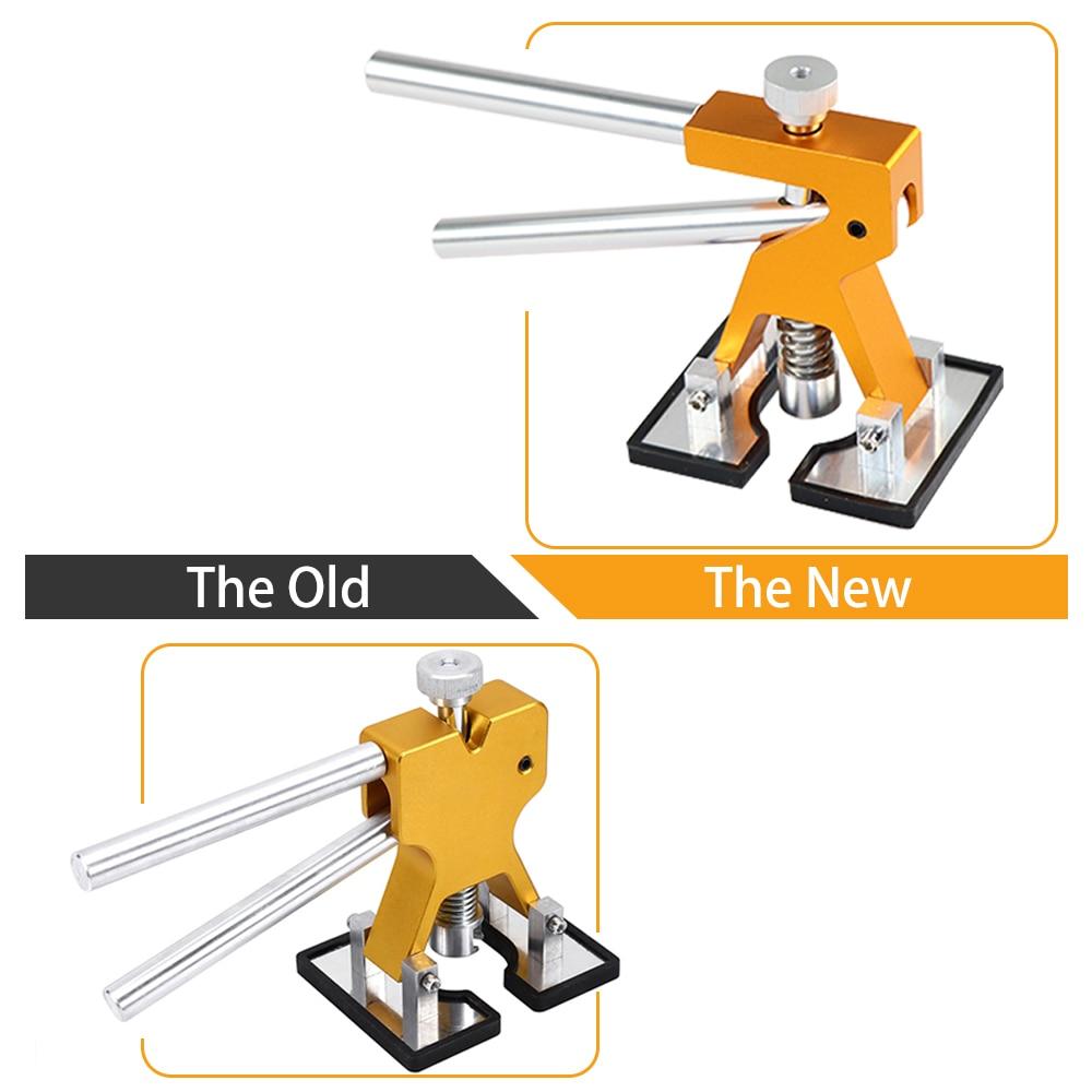 Купить с кэшбэком Hand Tool Sets Dent Lifter Kit Glue Puller Paintless Dent Repair Tool Bag Hail Removal with 4 size 8pcs glue tabs free gift