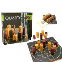 Quarto Board Game 2 Players Play Funny Family Party Game France Game
