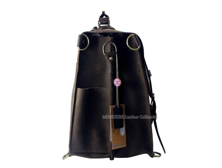 Brown Bag Big Reiserucksack Horse Reisetasche Leder Duffle Crazy Echtes Männer Große Tasche Wochenende Vintage Gepäck xA60BYqnw
