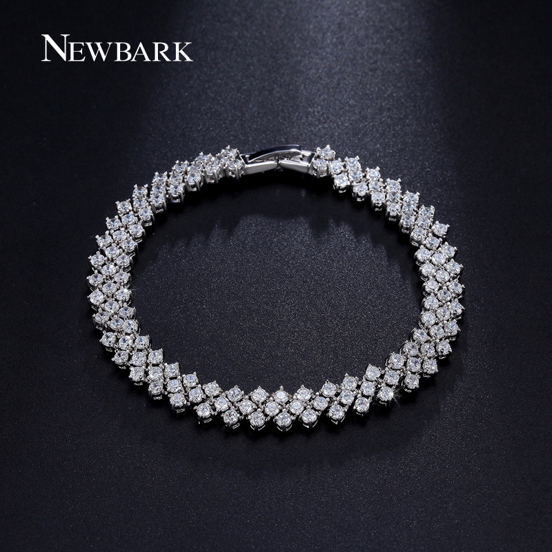 font b NEWBARK b font Luxury Wedding font b Bracelet b font Jewelry Rome Style