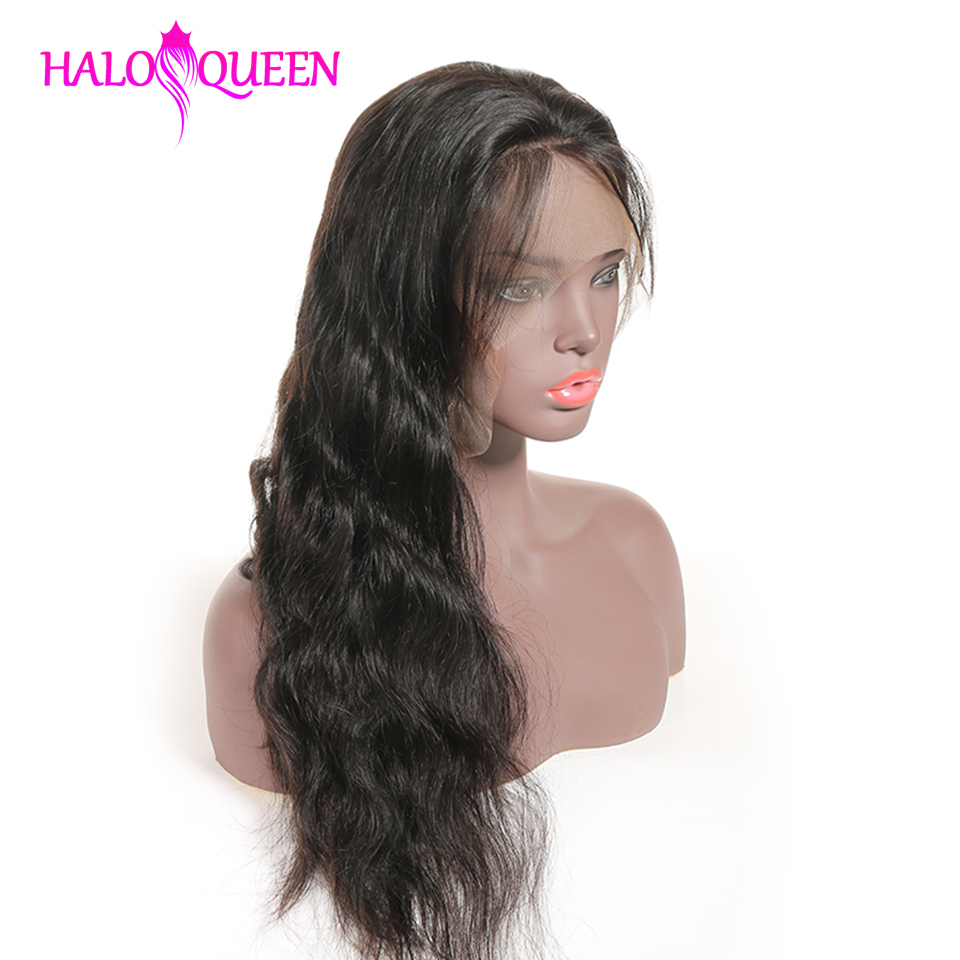 HTB1dcmsX7T2gK0jSZPcq6AKkpXa3 HALOQUEEN Hair Human Wigs Raw Indian 13X4 Lace Closure Wig Body Wave Pre-Plucked Baby Hair 8-28 Inch Non Remy Human Hair