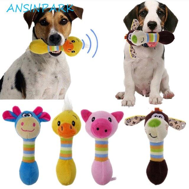 ANSINPARK Pet giocattoli carino cane di animale domestico giocattoli animali da