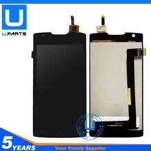 Черный Сенсор для Lenovo A1000 ЖК-дисплей Дисплей Панель с Сенсорный экран планшета полный сборки полной замены