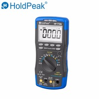 HoldPeak Digital Multimeter HP 770M Auto Range RMS Detector AC/DC Ammeter Voltmeter Ohm NCV HFE Transistor Tester multimetro
