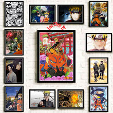 Naruto Tanggal Hayato Dilapisi Kertas Poster Cafe Kreatif Wallpaper Dekorasi Interior(China)