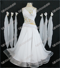 International Standard Ballroom Dance Competition Dress,Smooth competition Dress, Tango Dance Dress B-0133