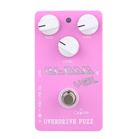 EA14 CP 32 Overdrive Fuzz Guitar Pedal Caline Effect Pedal CP32 Pedals Pink Color Power Effect