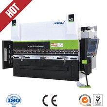 CNC hand press brake hydraulic hand bending machine with DA52 cnc system controller