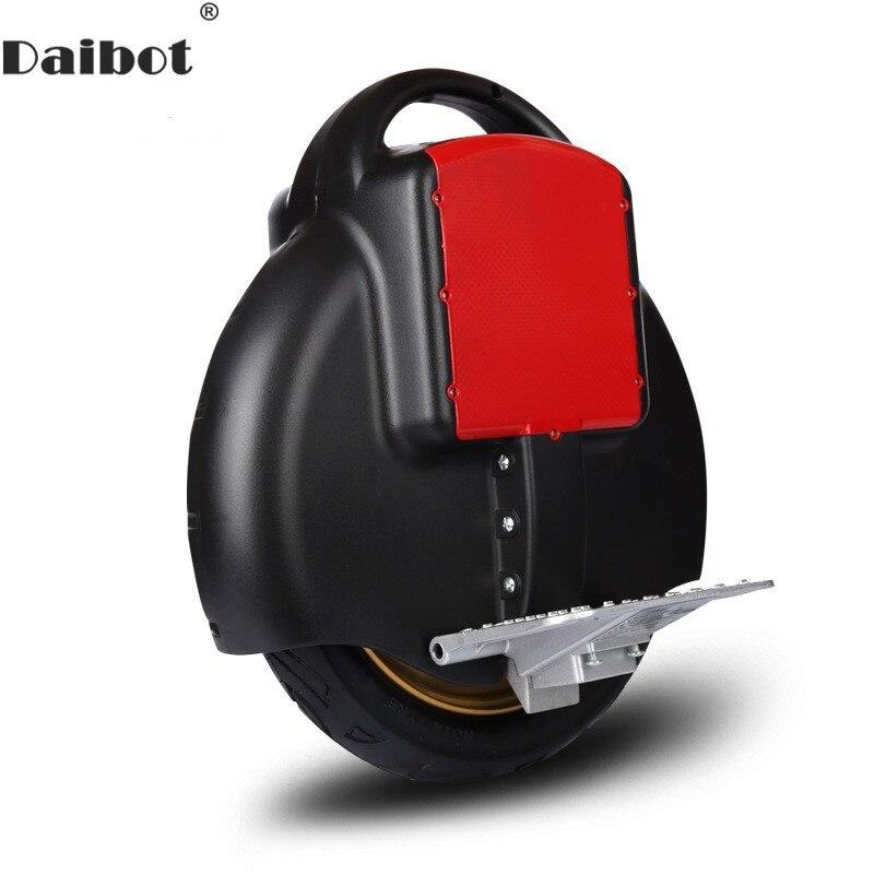 Daibot Électrique Monocycle Scooter Une Roue De L'auto Équilibrage Scooters Avec Roue De Formation 14 pouce 60 v Monowheel Scooter