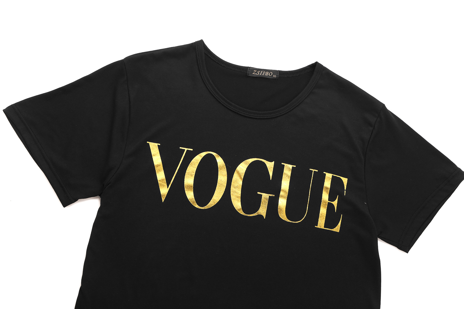 T shirt women tshirt 2020 new vintage vogue letter print short sleeve summer style T-shirt cheap clothe female dropshipping T012