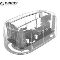 ORICO 2 5 3 5 HDD Transparent Docking Station Support 8TB Storage UASP Protocol USB 3