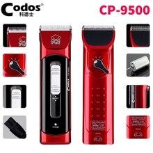 Máquina de Corte de pelo de Perro Codos Pet Hair Trimmer Grooming Clippers Animales CP-9500 Profesional Cortador de Pelo Afeitadora Perro Gato Eléctrico