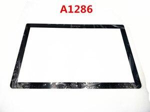 Переднее стекло экрана с ЖК-дисплеем A1286 сменная часть Unibody для MacBook Pro 15
