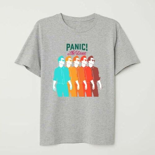 Funny T-shirt Personalised PANIC AT THE DISCO  T SHIRT NEW