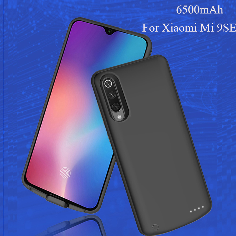 High Quality Power Bank Case For Xiaomi Mi 9SE 6500mah Pack Backup Battery Charge For Xiaomi