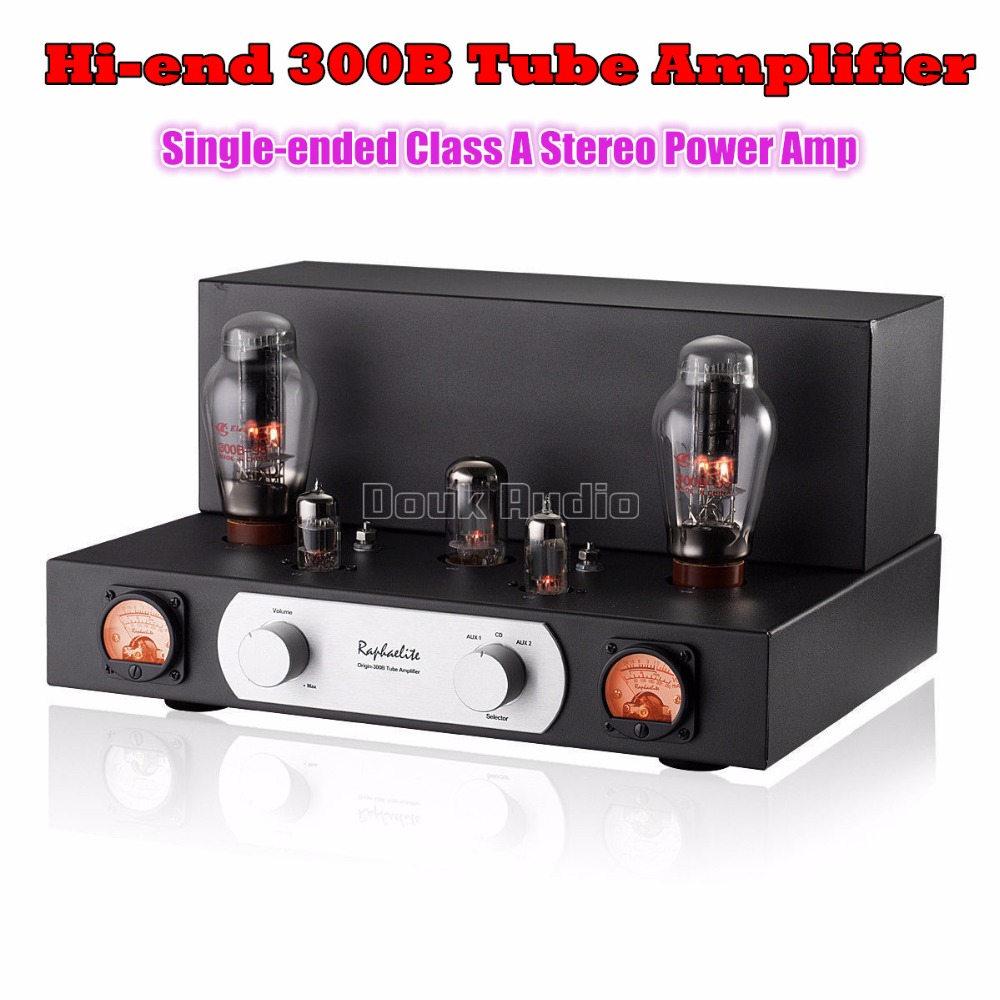 2018 Latest Hi-end Raphaelite 300B Vacuum Valve Tube Amplifier HiFi Single-ended Class A Stereo Power Amp music hall pure handmade hi fi psvane 300b tube amplifier audio stereo dual channel single ended amp 8w 2 finished product
