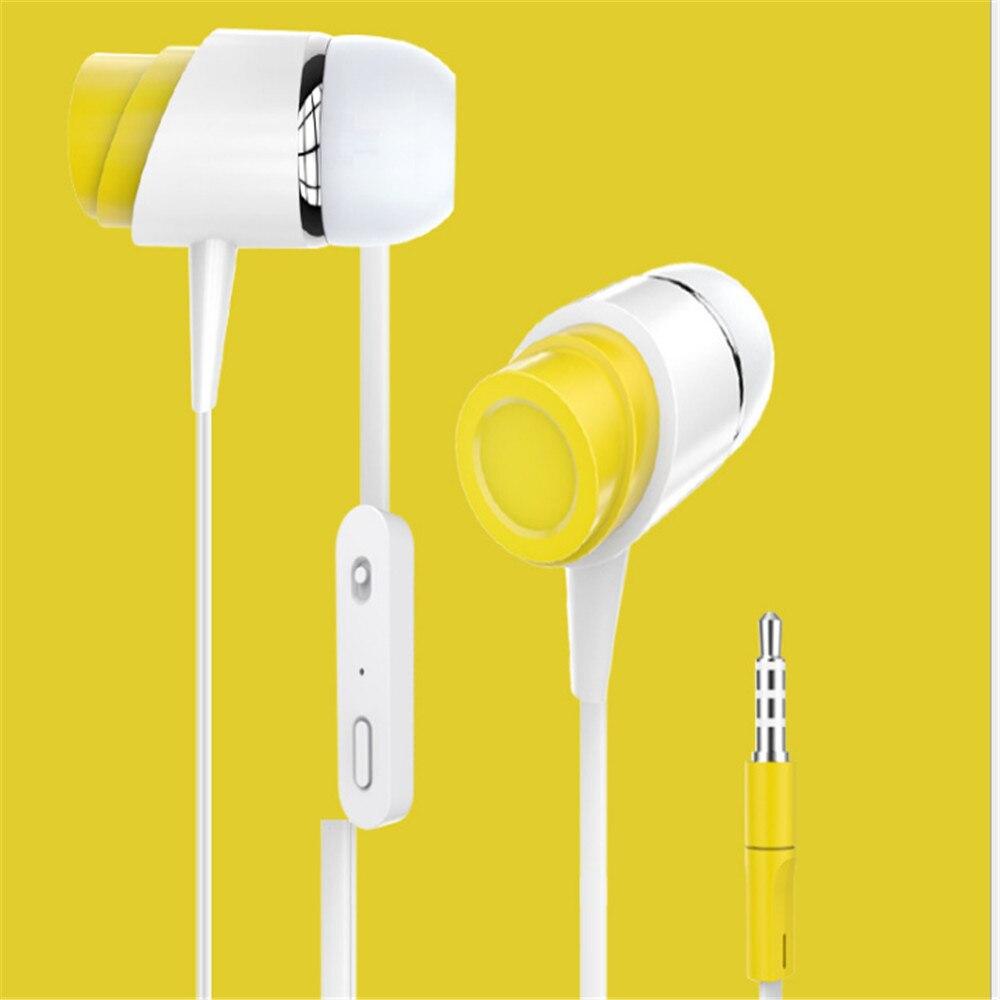 2018071101 xiangli in-ohr mode Verdrahtete earphoneTrue Stereo Ohr Mini headset für computer und telefon 9 farben 35,88