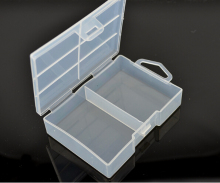 30pcs/lot AAA Battery Holder Case Organizer Container battery Storage Box Protective Cover for 24 X batteies