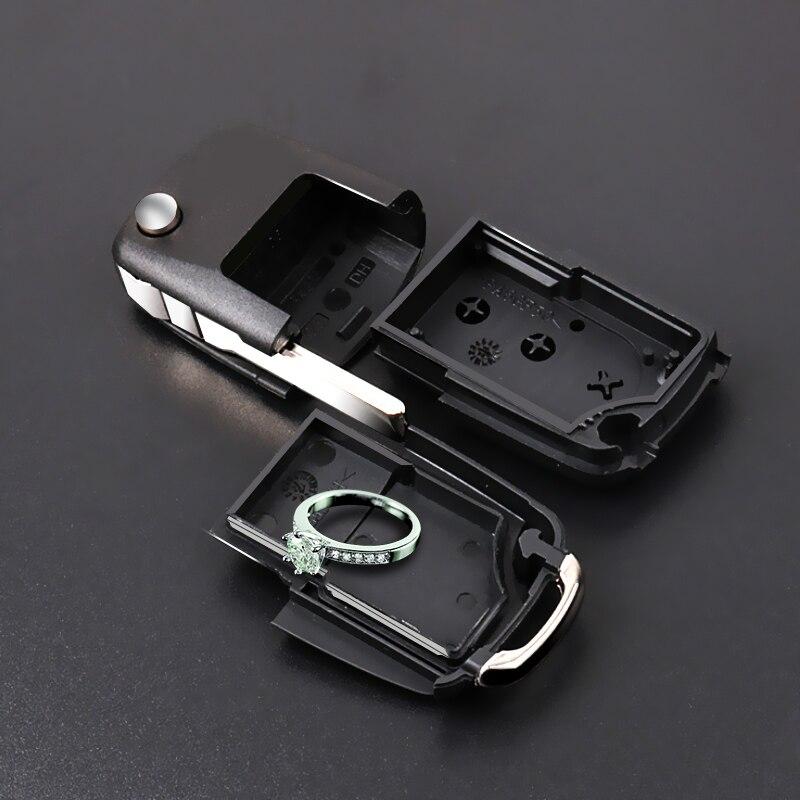 Car Key Safe Compartment Container Secret Hide Hollow Stash Tool Key Case for Car Portable Safe Storage Key Containe