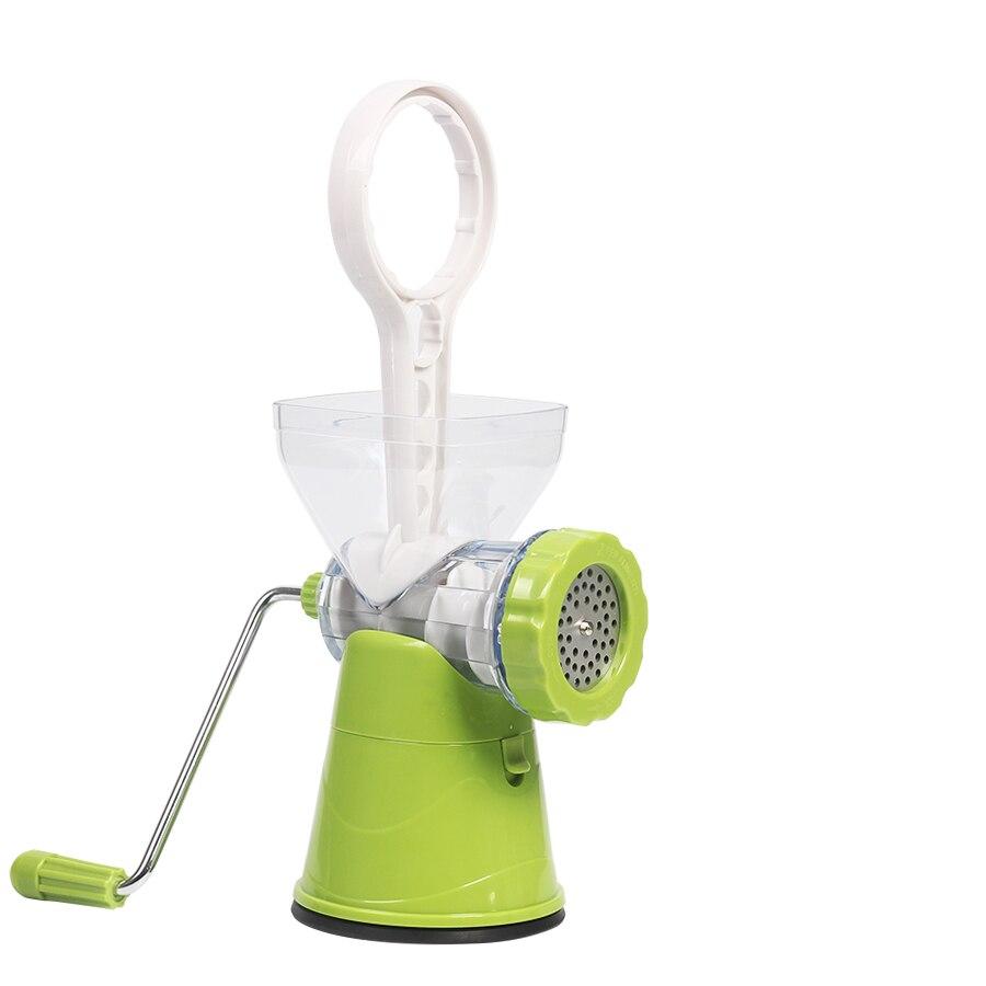 Râpe multifonctionnelle de coupeur de trancheuse de broyeur de légume de 4in1 avec des lames d'acier inoxydable Gadgets de cuisine d'outil de cuisine