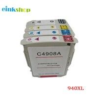 einkshop иногда сил 940xl картридж для замена НР 940 XL для Officejet профессиональные 8000 8500 8500a a910a a809n a909b принтер