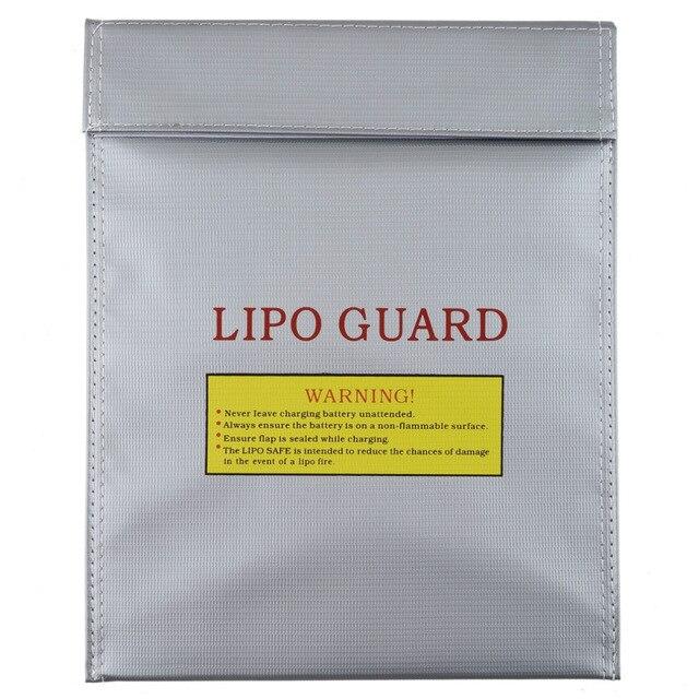 2pcs 230x300mm 180 x 230 mm RC Fireproof Lipo Li-Po Battery Safety Bag Case Guard Safe Bag Charge Sack