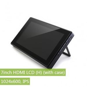 Image 1 - Waveshare 7 pulgadas HDMI LCD (H)+ funda, 1024x600,IPS, LCD táctil capacitiva, soporte WIN10 IOT,Win 10/8.1/8/7,Raspberry Pi,Banana Pi etc