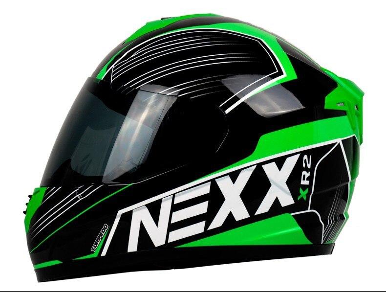 brand NEXX full face helmet moto casco motocicleta capacete ECE Approved Men's motorcycle helmet professional racing helmet-in Helmets from Automobiles & Motorcycles    1