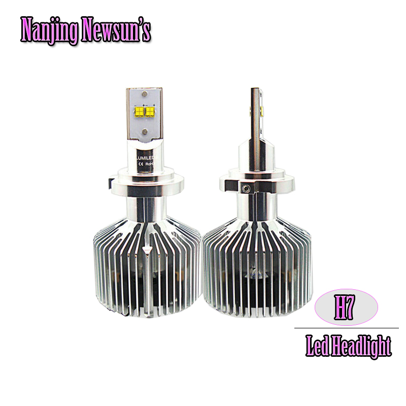 цены 1Set Led Headlight Conversion Kits H7 Front Driving Head Light Replacement Bulbs 3000K 4000K 5000K 6000K 45W 4500Lm Lamps 12V