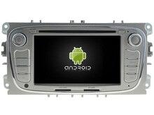 Android6.0 octa Core 2 GB RAM coche DVD jugar headunit GPS Navi Radio Estéreo cinta para Ford Focus Mondeo s-max c-max Galaxy Fusion
