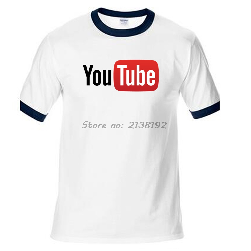 Design t shirt youtube - Youtube Men T Shirt Raglan Sleeve Tops Tees Streetwear Brand Male T Shirt Men Homme