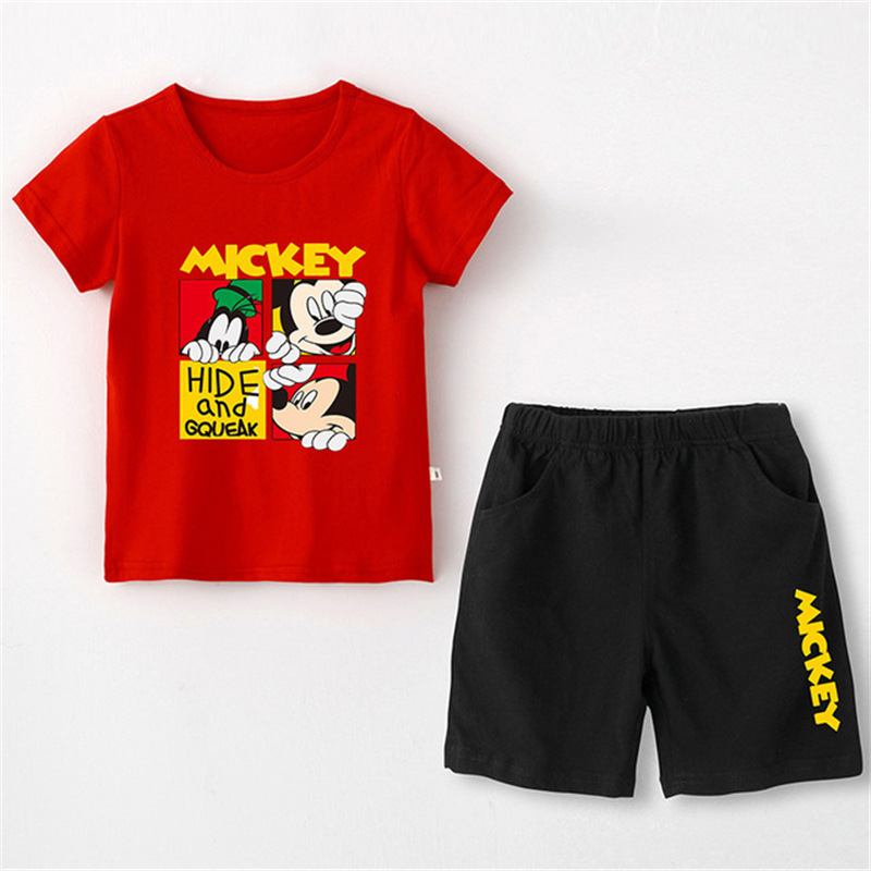 2019 New Youngsters Cartoon Clothes Set Boy Lady Vogue Mickey Mouse T-shirt Prime + Child Leisure Cotton Shorts pants 2Pcs 2-9Year Aliexpress, Aliexpress.com, On-line buying, Automotive, Telephones & Equipment,...