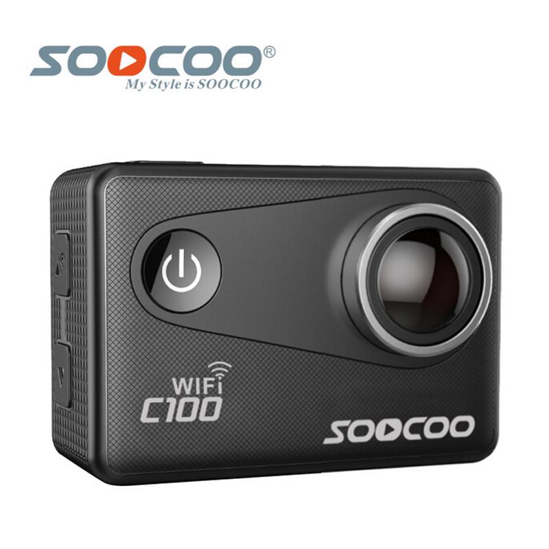 Prix pour SOOCOO C100 4 K Wifi NTK96660 30 M Étanche Action Sports Caméra Intégré Gyro avec GPS Extension (GPS Modèle est option)