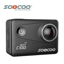 SOOCOO C100 4 K Wifi NTK96660 30 M Étanche Action Sports Caméra Intégré Gyro avec GPS Extension (GPS Modèle est option)
