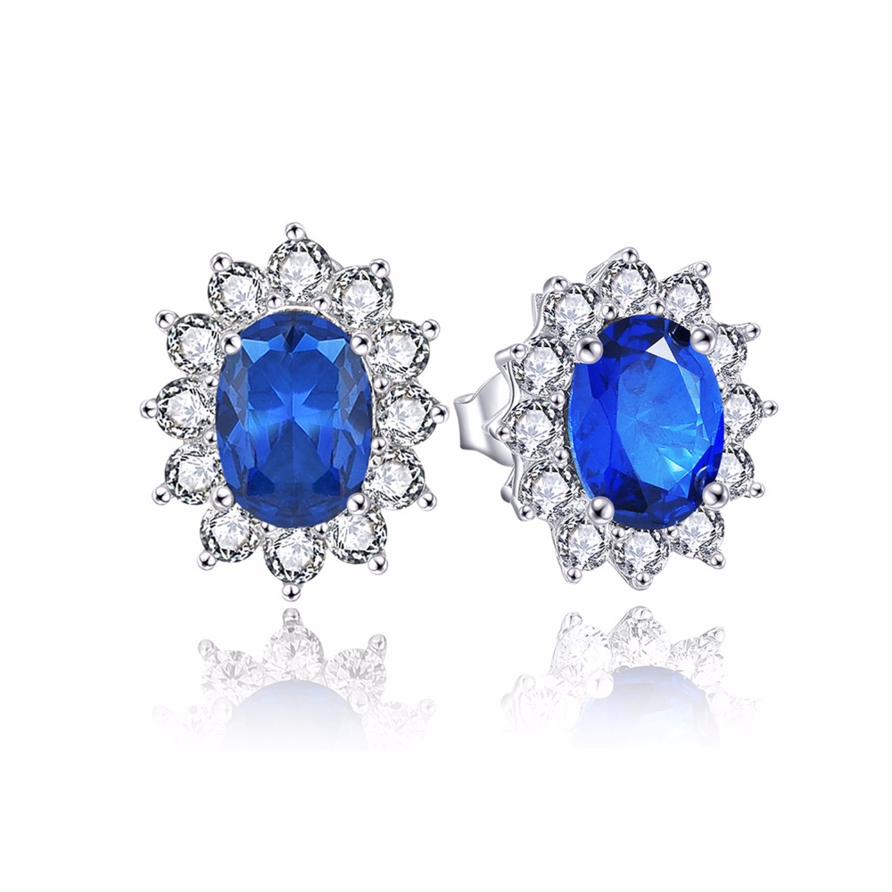 luxury wedding earrings for brides with crystal NE89300L (11)