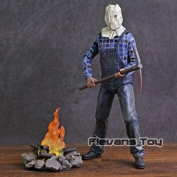 NECA שישי את 13th חלק 2 ג 'ייסון Voorhees PVC פעולה איור אסיפה דגם צעצוע