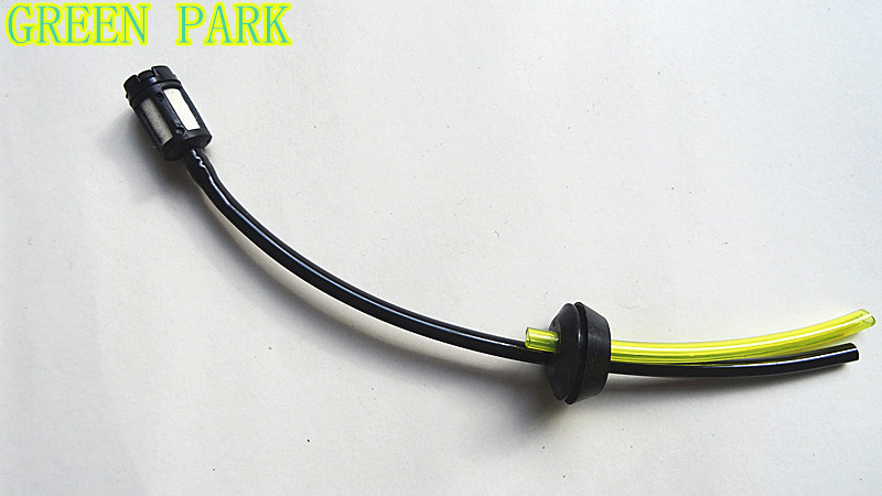 Replacement Fuel Hose Pipe + Tank Filter Spare parts for Strimmer Trimmer Brush Cutter Engine 40-5 44-5 CG430 CG520 jiangdong engine parts for tractor the set of fuel pump repair kit for engine jd495