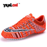 YEALON Football Boots Soccer Shoes Men Superfly Cheap Football Shoes For Sale Kids Cleats Indoor Women