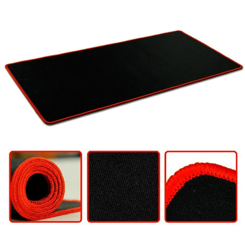 ISHOWTIENDA Fashion New 60*30cm Big Pro Gaming Mouse Pad Mat for PC Laptop Computer Anti-slip rubber base for LOL DOTA CF NICE ...