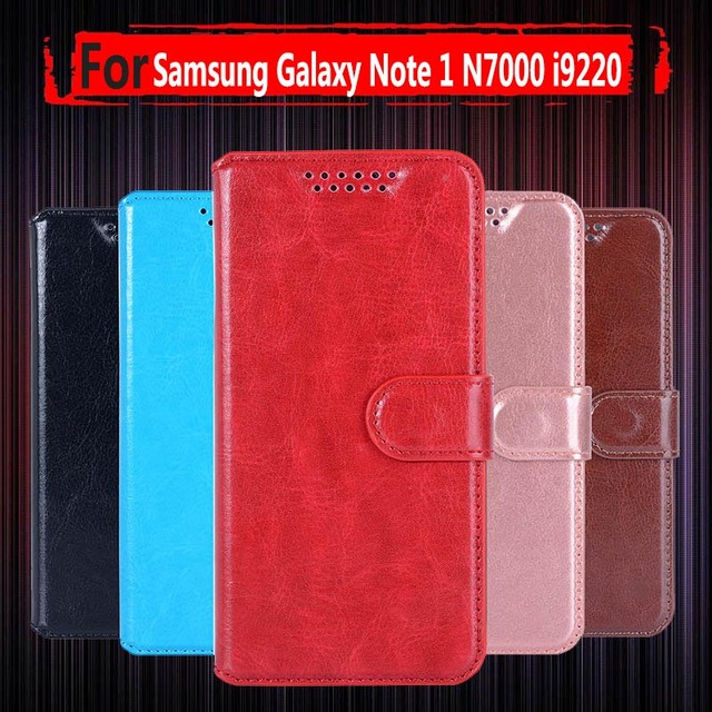 official photos c0fdf ba88d US $3.97 20% OFF|Hot Sale ! Case for Samsung Galaxy Note 1 Flip Leather  Phone Case for Samsung Galaxy Note 1 N7000 I9220 Wallet Stand Cover-in Flip  ...