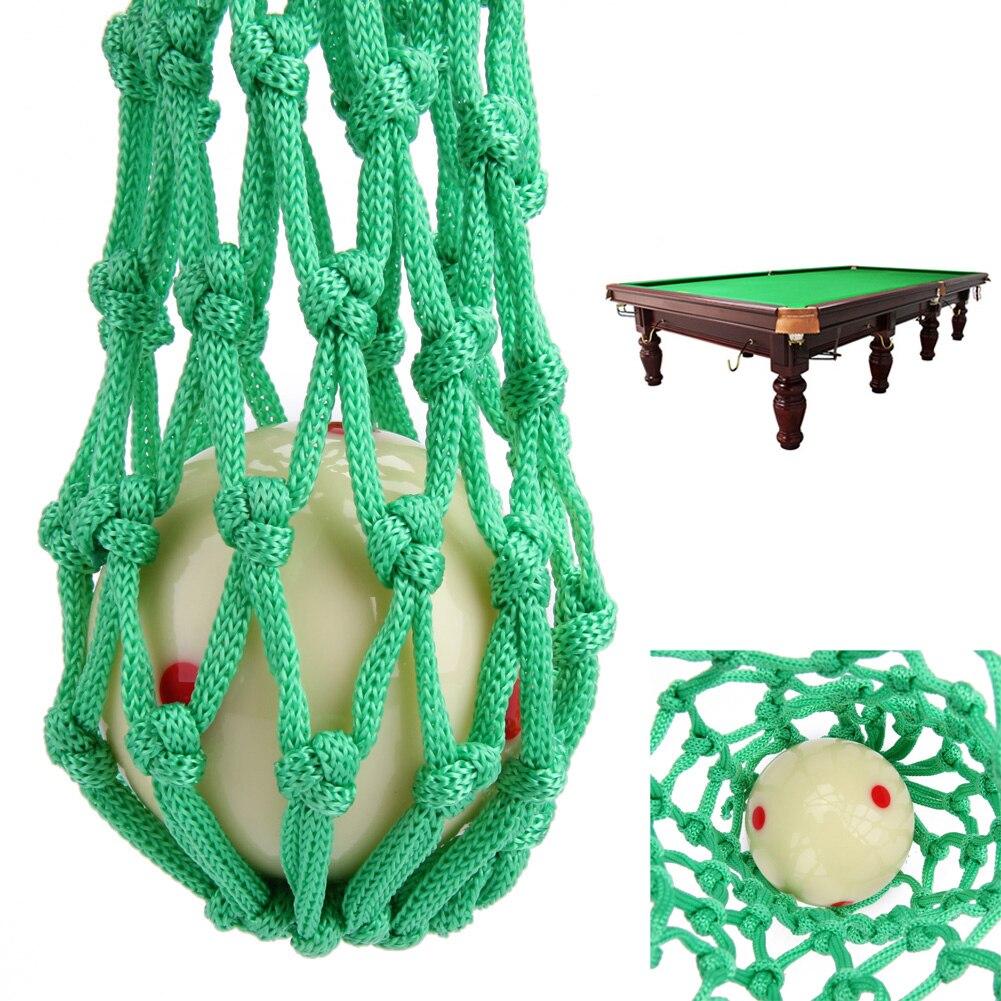 Wholesale 10*4.3CM 6Pcs Green Billiard Pool Snooker Table Nylon Mesh Net Bags Pockets Club Kit Billiards Net Bags Hot Sale