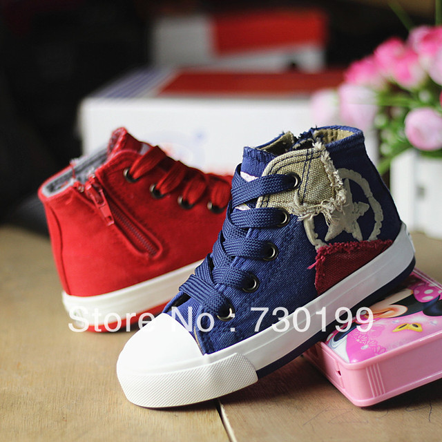New high quality 2013 autumn highland canvas children shoes, leisure shoes,five star sneaker shoes