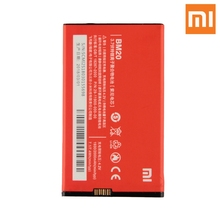 Xiao Mi Original Replacement Phone Battery BM20 For Xiaomi 2s mi 2 Authenic Rechargeable 2000mAh