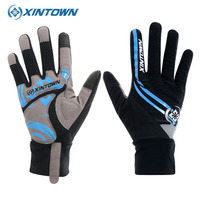 XINTOWN Men Cycling Gloves Full Finger Bicycle Winter Warm Luvas Bike Guanti Uomo Touchscreen Guantes Ciclismo