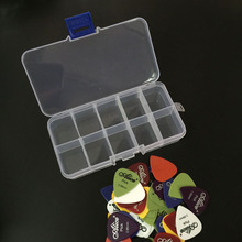 40 guitar picks 1 box case Alice acoustic electric bass pic plectrum mediator guitarra musical instrument thickness mix 0.58-1.5