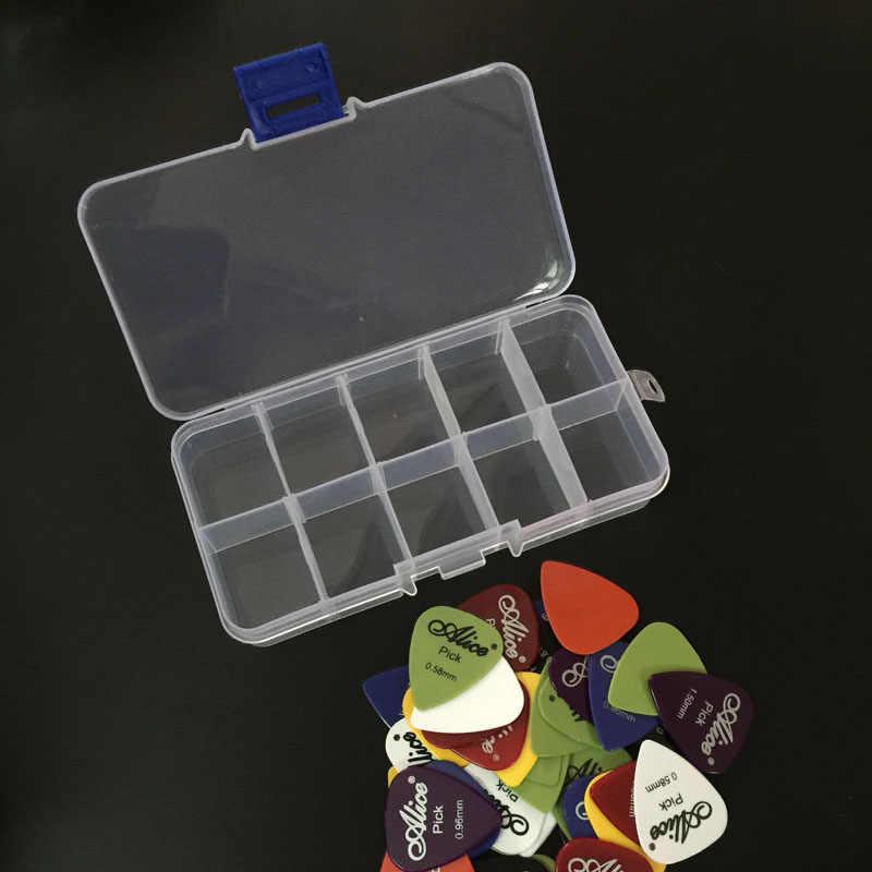 40 picaretas de guitarra 1 caixa alice acústico baixo elétrico pic plectrum mediador guitarra acessórios espessura 0.58-1.5mm