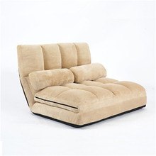 Convertible Futon Flip Chair Sleeper Bed Couch Sofa Seating Lounger Living Room Furniture Fold Down Chair For Dorm Guest Couch