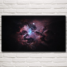 Science Fiction Space Galaxy Universe Stars Art Silk Poster Prints Home Decor Pictures 11×20 24×43 30×54 Inches Free Shipping
