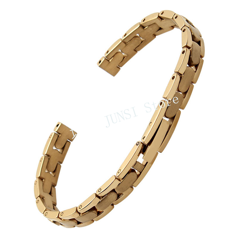 UYOUNG Stainless Steel Watchband Small Size Bracelet Stainless Steel Ladies Watch Accessories 8mm
